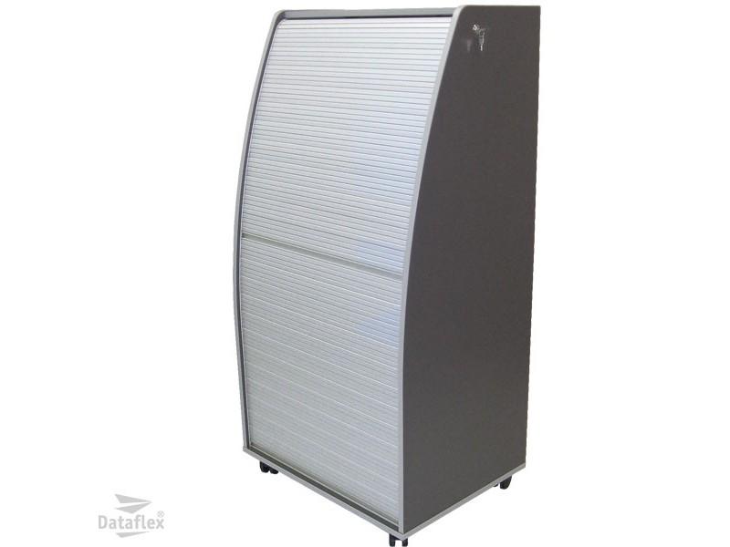 Dataflex Computer Cabinet aluminium/charcoal (80.904)< buy online ...