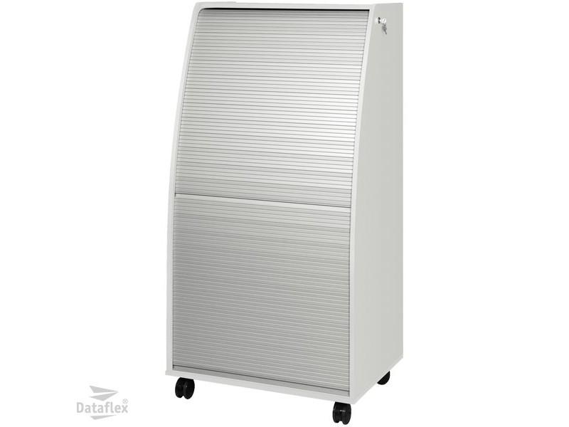 Dataflex Computer Cabinet aluminium/white (80.901)< buy online ...