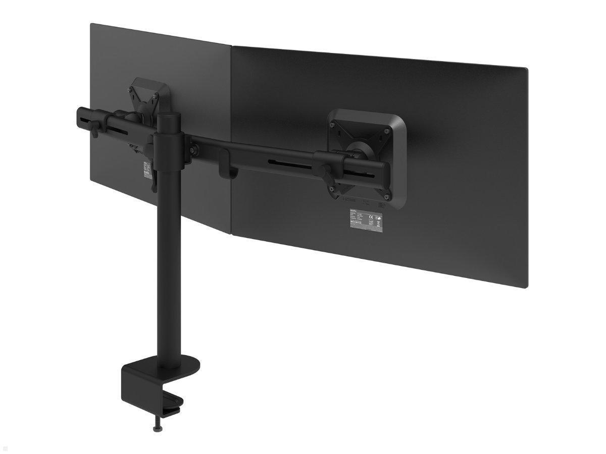 Dataflex Viewmate dual monitor desk mount (10.10), black